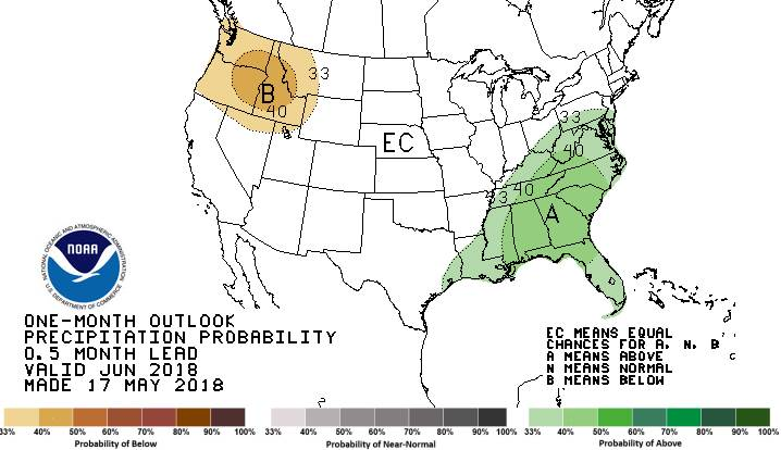 Image of precipitation map day 15-30